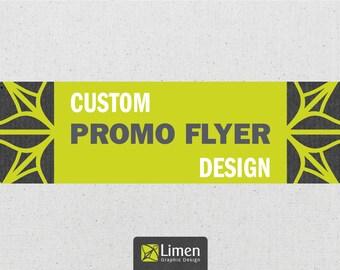 Custom Flyer Design, Custom Catalog Design, Graphic Design, Business Flyer, Event Flyer, Marketing, Promotional Flyer, Leaflet Design