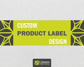 Custom Product Label Design, Graphic Design, Product Labels, Custom Label Design, Custom Design, Customized Label, Package Labels, Packaging