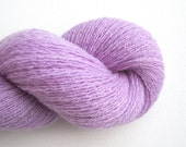 Lace Weight Cashmere Recycled Yarn, Lavender, 530 Yards, Lot 070216