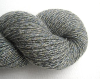 Reclaimed Cashmere Yarn, Heavy Lace Weight, Ocean Fog, Lot 060816
