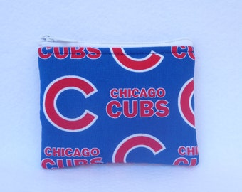 Chicago Cubs  Coin Bag // MLB //