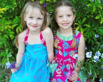 Girls Halter Dress size 4, Girls Dress Halter, Girls Dress size 4, Halter Girls Dress