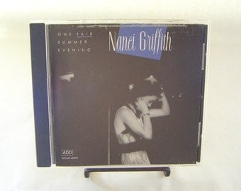 Nanci Griffith One Fair Summer Evening CD Vintage Used Music Country Folk