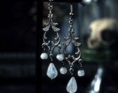 Drops of Moonlight Earrings 2 1/2 inches
