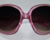 Custom Trisha Paytas Pink Crystal Sunglasses