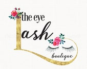 eyelash extension salon logo design beauty logo design premade logo design beauty consultant logo bespoke logo design makeup artist logo