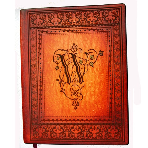Handcrafted Leather Family and or Wedding Catholic Bible