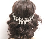 Wedding hair accessories Bridal hair chain Wedding hair piece Bridal hair accessory Wedding hair chain Bridal headpiece Wedding hair piece