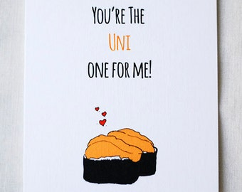 You're the Uni One For Me!