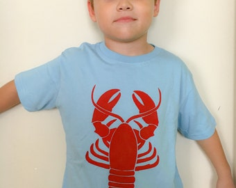 Lobster TShirt~Lobster Shirt~Lobster ~Lobster T-Shirt~Nautical T-Shirt~Crustacean~Langosta Lobster Shirt for Toddler Kid Baby Adult