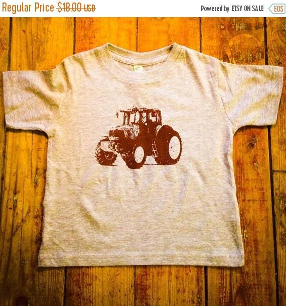 On Sale Tractor Shirt Toddler Tee Farm Tshirt John Deere