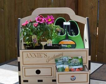 Personalized Gardening Caddy