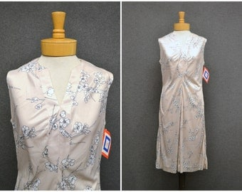 1970s Minx Cherry Blossom Dress