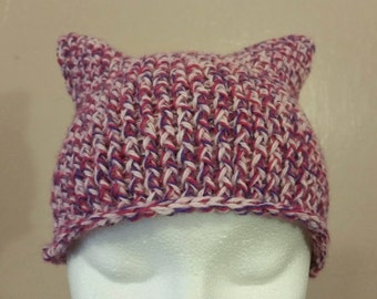Purple and Pink Hat Beanie