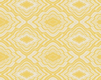 Jenean Morrison for Free Spirit - IN MY ROOM - Pillow Talk - Yellow - Cotton Fabric - 1 yard