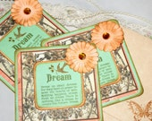 Vintage Inspired Note Cards - Dream Note Cards - Love Birds Note Cards - Vintage Note Cards - Wedding Cards - Wedding Gift Cards