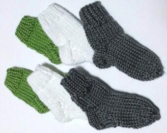 Baby Socks, Knit Baby Socks