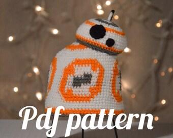BB8 Bobble Hat Crochet Pattern