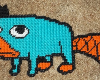 Perry The Platypus Plastic Canvas Pattern
