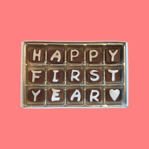first 1st anniversary one year anniversary gift boyfriend