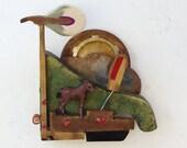 Piano Hammer Landscape - Horse - Scott Rolfe