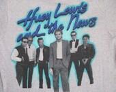 HUEY LEWIS 1984 tour T SHIRT