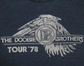 DOOBIE BROTHERS 1978 tour T SHIRT