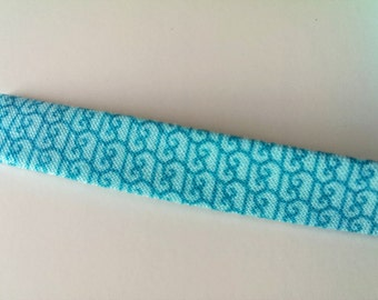Bias tape by the yard ** Half-inch wide - Double fold **