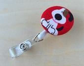Retractable Badge Reel Holder - Puppy Love
