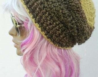 Winter Beanies Gold And Brown Fall Hats Earwarmers Snow Hats women's New Fashion Headwear Teen Girls Thick Beanies