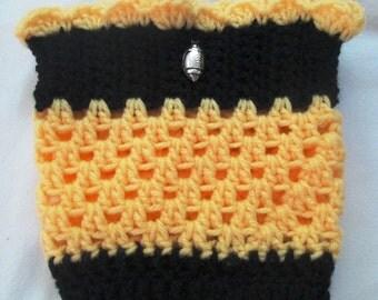 Crocheted Boof Cuffs / Toppers / Socks