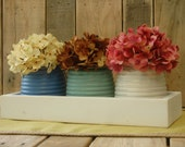 Honey Pot Painted Rustic Box, table centerpiece, rustic decor, rustic table centerpiece, wooden box, home decor, wedding centerpiece