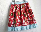 Christmas matryoshka doll nativity skirt in Size 5 CLEARANCE