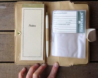 Vintage Baronet Wallet  Cream Wallet NOS