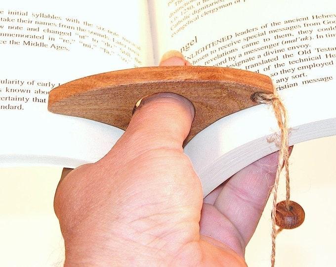 Thumb Ring Book Holder Bookmark, Bible Mark, Graduation Gift, Teacher Gift, Gift for Readers, Book Lover Gift, Pastor Gift, Minister Gift