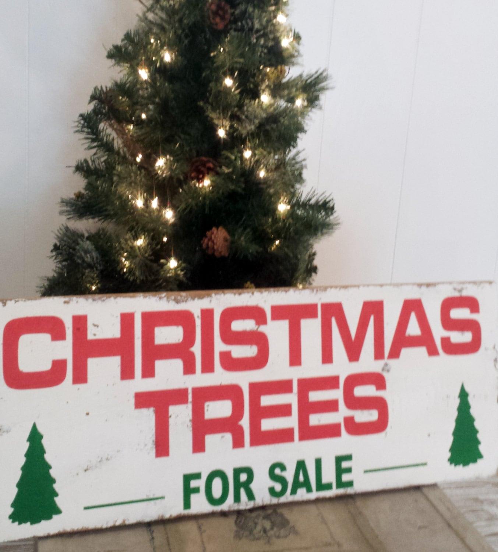 18.5 x 48 Christmas Trees For Sale Wall Decor