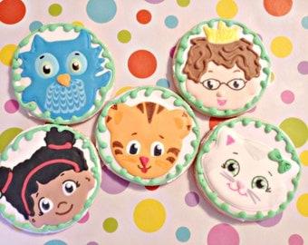 Daniel Tiger sugar cookie favors