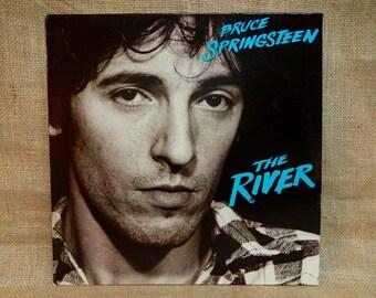 Bruce Stringsteen - The River - 1980 Vintage Vinyl 2 lp Gatefold Record Album...Includes Insert Lyrics