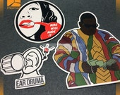 100 Custom Vinyl Stickers, Laminated Stickers, Die cut Ssitcker, Promotional Stickers