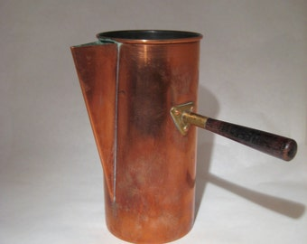Copper Coffee Pot Made in Portugal
