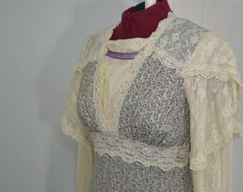 Vintage Gunne Sax Dress - XS