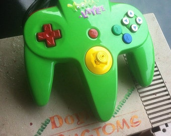 Yooka laylee custom n64 controller