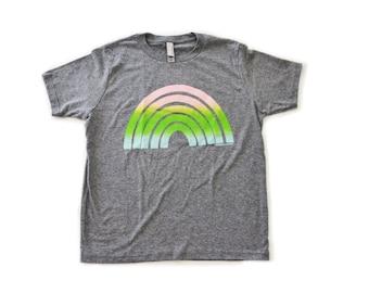 Ombre Rainbow Kid Tee