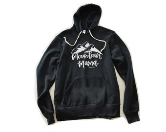 Mountain Mama Adult Hoodie Sweatshirt