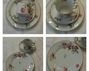 Heinrich & Co from Selb Bavaria 3 pc Luncheon Set circa 1911-1934-   DR