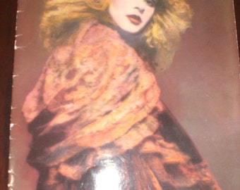 Stevie Nicks Rock A Little World Tour Book 1986