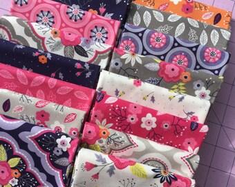 Paradise By Camelot Fabrics Fat Quarter Set of 16
