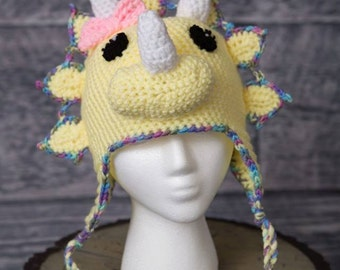 Girl Dinosaur Hat