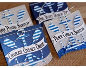 Nautical Tent Cards