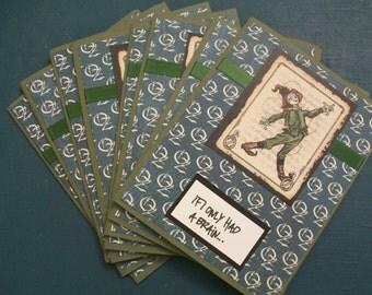 Wizard of Oz-Scarecrow Belated Birthday Cards